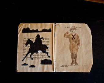 Providence Lithograph Co Plates  / Childs Scrapbooks 1920's