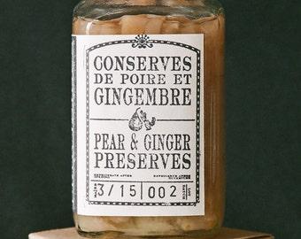 Pear & Ginger Preserves - 375 mL