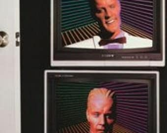 Max Headroom 1987 Rare Door Poster