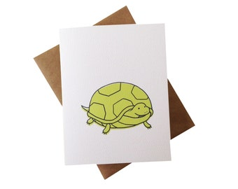 Baby Turtle Card - all-occasion greeting card - baby shower thank you cards