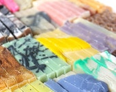 Unwrapped Soap SUPER SAVER, 20 bars, Our Variety Choice, Bulk Favors for Wedddings and Bridal/Baby Showers