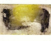 Brush Strokes 2 collagraph monoprint