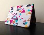 Card Wallet - Geometric Triangle