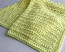 Crochet Pattern - Berkley Baby Blanket Babyghan - PDF Format