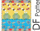 PDF Once A Pond A Time Quilt Sewing Pattern