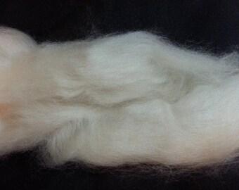 Cashmere 100 percent CREAM Roving Combed Top 1/2 oz spinning fiber fibre