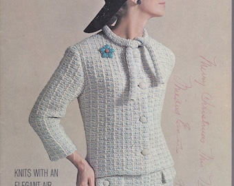 Unger Vol. Xv Knits With An Elegant Air - 1964 - Vintage Knitting Patterns