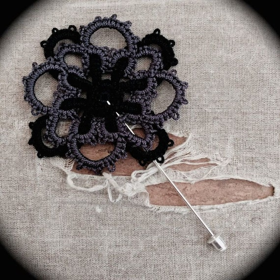 https://www.etsy.com/listing/200612592/tatted-boutonniere-lapel-pin-woven?