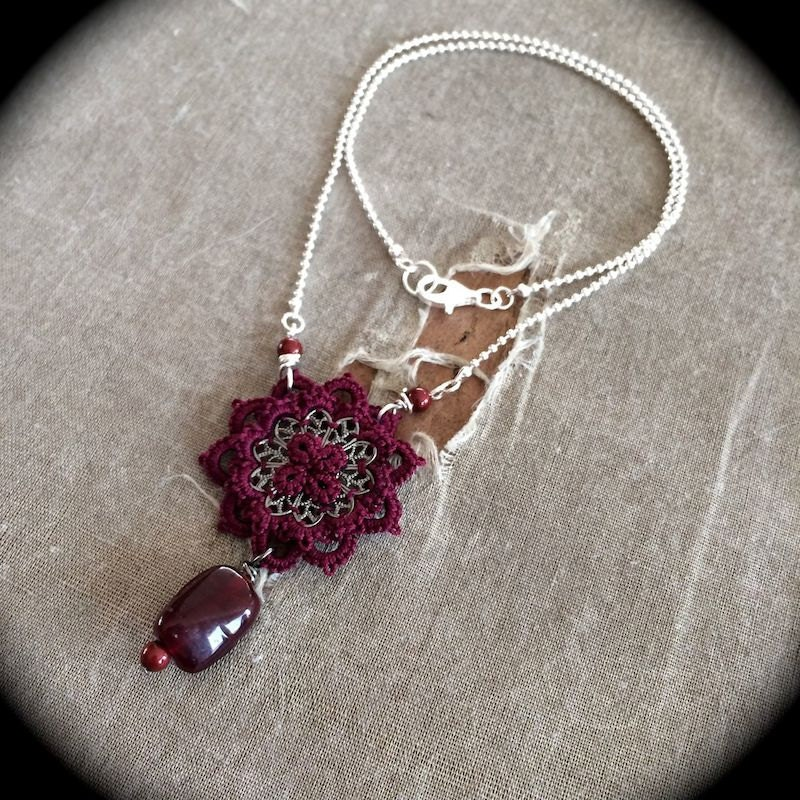 https://www.etsy.com/listing/172942920/burgundy-and-silver-one-of-a-kind-tatted?