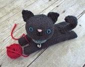 Amigurumi Knit Kitten Pattern Digital Download