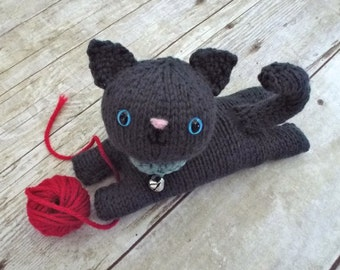 Amigurumi Knit Kitten Pattern Digital Download