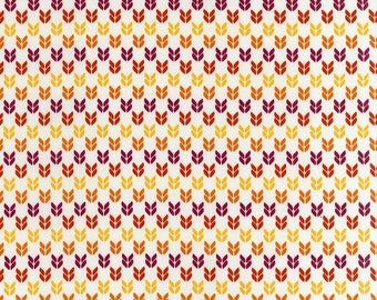 Stitch Organic Birdseye in Garden - One yard