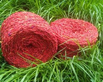 Aderyn Tân - The Firebird - Recycled Yarn - Silk Fiber Mix - 130g (approx 260yds)