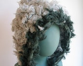 Wooly Winter Hood in Cloud and Forest