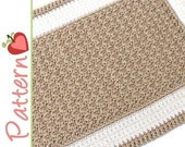 Rectangle Rug Crochet Pattern pdf, A Quick to Stitch Project