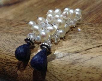 Freshwater pearls briolette Earrings