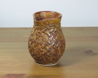 Rustic Celtic Knotwork Pitcher