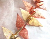 Paris 5 Wedding Party Favors Origami Peace Cranes Paper Traditional Classic Table Decoration