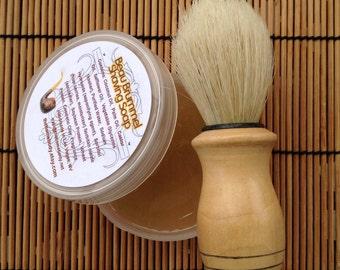 Men's Rich Lather Shaving Soap in Jar, 2 oz Travel Size