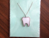 White Tooth pendant by Gl...