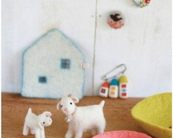 Wool Needle Felting Easy Techniques for beginners Japanese Craft Book