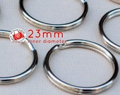 40 pieces 23mm split rings / key rings (available in nickel, antique brass, and gold color finish)