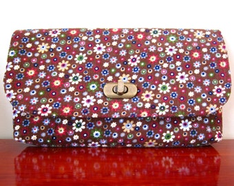 Mini Clutch - Floral Cords - ON SALE