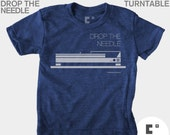 Boys Graphic Tee, Baby Boy Clothes, Drop the Needle, Turntable, Hipster, Urban, Boys Rock, Gift for Boys, School of Rock, Rocker Baby
