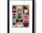 Giclee Print (item No. P-2014-12) Bows
