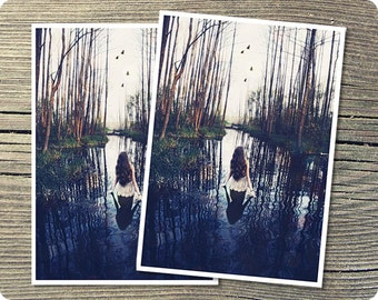 Raven Call, 5x7 Postcard