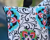 Shopping Cart Cover for Girls- Boutique Shopping Cart Cover- Floral Medallion