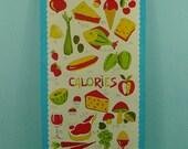 Vintage theedoek calories