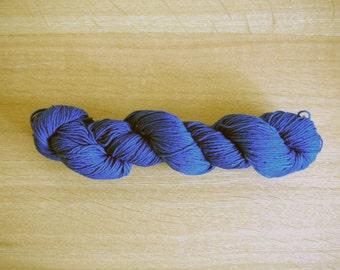 Indigo dyed Sashiko thread Light Blue color 100 meters (110yards) skein