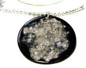 Virgo Constellation Sparkle Surly Necklace with Swarovski Crystals