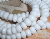Jade,Snow White Faceted 8mm Rondelle Loose Beads-20 WHOLESALE PRICING
