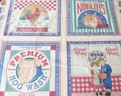 Wonderful Country Themed Fabric