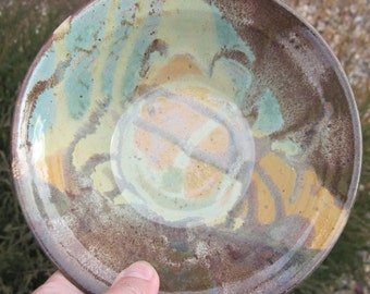 Pottery Serving Bowl - Visit shop for more Handmade Pottery