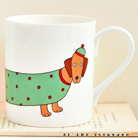 Larry the Long Dog Mug