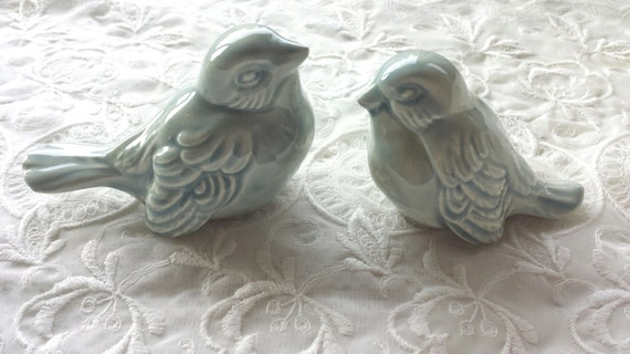 ceramic bird wedding cake toppers wedding cake topper birds wedding favors ceramic birds 12487