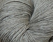MYS 622 - SIlver-superwash merino,yak, silk yarn -Silver 100 grams 400 yards