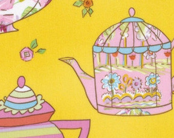 NEW from Dena Designs, Tiddlywinks, Teatime in Yellow, yard