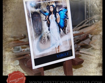 LIMITED...Virgo... ACEO / ATC.. Fantasy Picture...Zodiac Collection...Fairy, Virgin, August 23 - September 22