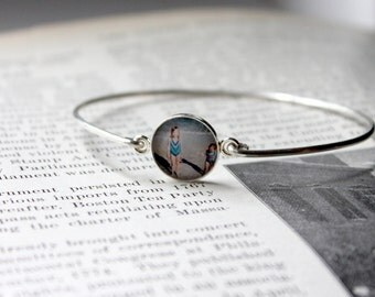Photo Jewelry,  Photo Jewellery, Custom Photo Jewelry, Bracelet, Photo Bangle