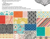 Spice Market 6x6 Paper Pad - 36 Sheets