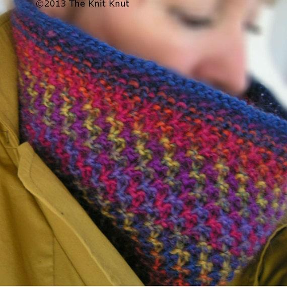 Knitting Styles Patterns : Knitting pattern cowl unisex styles color magic pdf