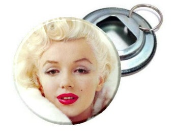 Bottle Opener - Cute Marilyn Monroe white coat