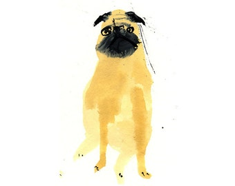 Custom Pet Portrait. Wonky funny Pet portrait commission || FAYE MOORHOUSE WONKYPETPORTRAIT
