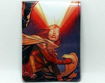Sewn Comic Book Wallet - X-men - Cyclops and Hope Design 2