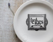 Egg Sign // Rustic Farmhouse Kitchen Sign // White Cottage KItchen // Shabby Cottage Kitchen // Paleo Wall Decor // Farm Sign // Foodie