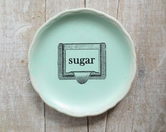 Sugar Sign // Rustic Kitchen / Primitive Sign // Wall Decor // Country Prim Kitchen // Vintage sign // Farmhouse Kitchen decor